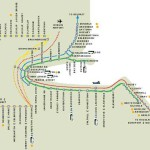 El Dart, en tren por los alrededores de la capital