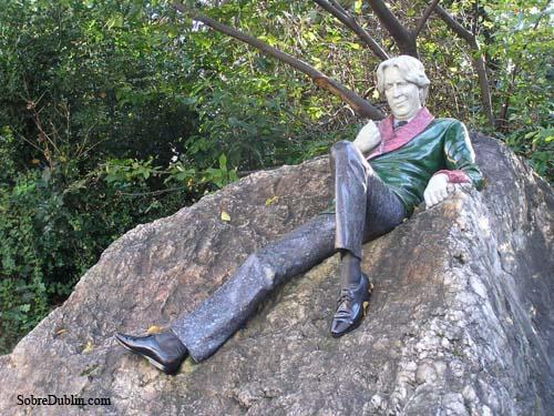 Estatua de Oscar Wilde