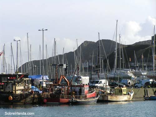Puerto pesquero de Howth
