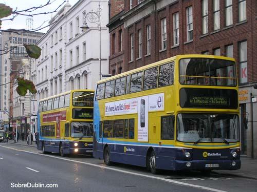 Transportes en Dublín