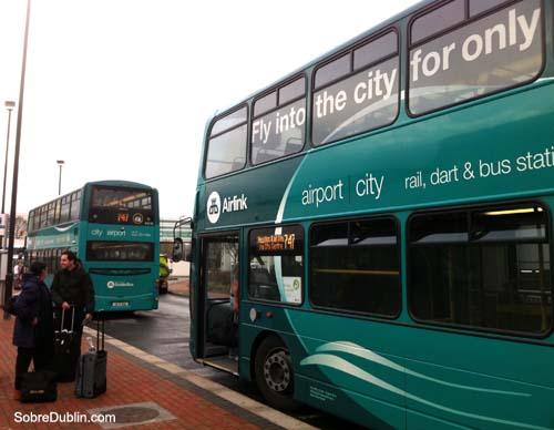 Bus del aeropuerto a Dublin